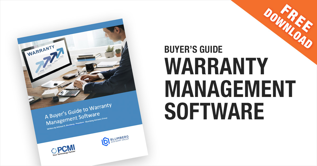 Buyer's Guide to Warranty Management Software