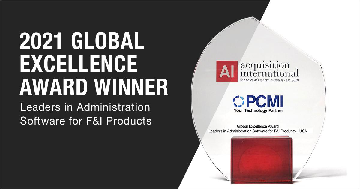 2021 Global Excellence Award Winner