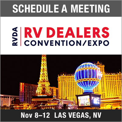 Schedule a Meeting - RVDA RV Dealers Convention Expo