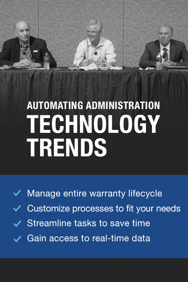 Automating Administration Technology Trends