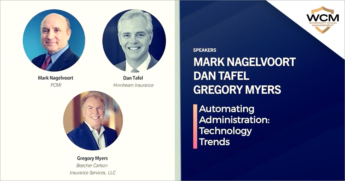 Conference Panel: Automating Administration Technology Trends
