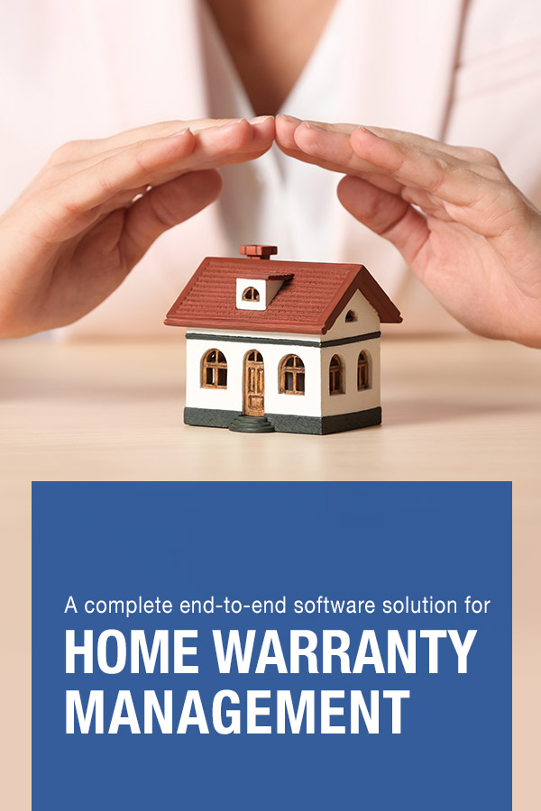 A complete end to end software solution for home warranty management